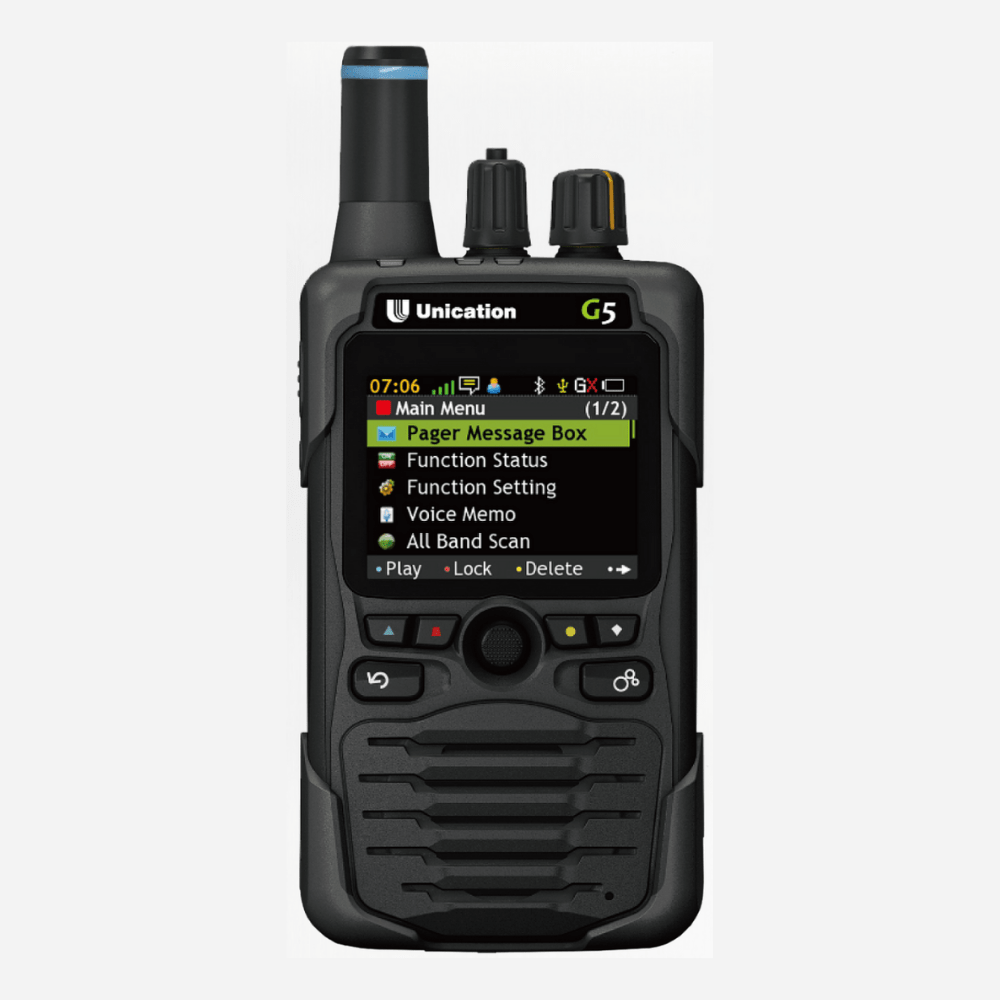 G5 P25 Voice Pager Photo