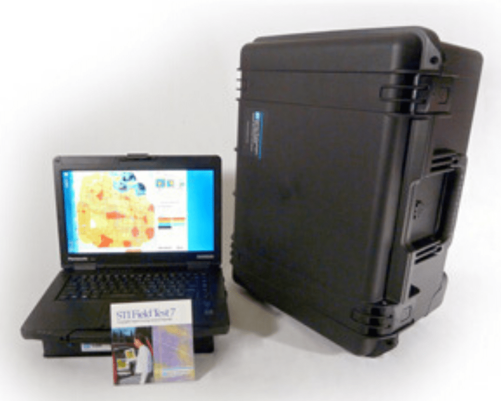 The STI-9400 Laptop Signal Measurement & Analysis System Image